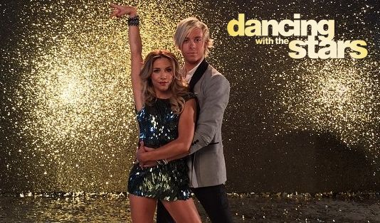 Riker on Dancing with the Stars